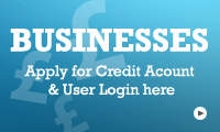 Open a credit account and user login for business users