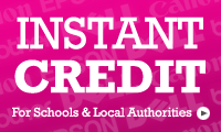 Instant credit accounts for Schools & Local Authorities
